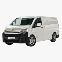 toyota hiace 2019-2020 3D model