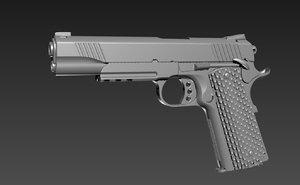 3D m1911 cqb