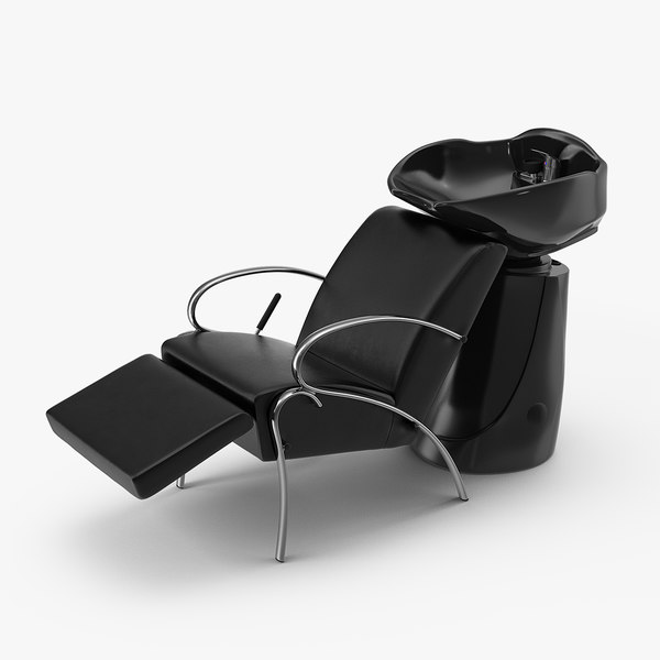 ceramic shampoo bowl salon chair model
