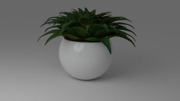 small bush 3D