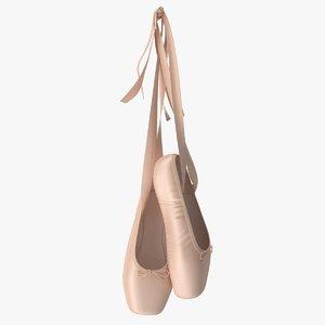 ballet shoes 3D
