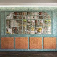wall panel set 70 3D model