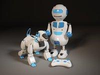 robot dog bot 3D model