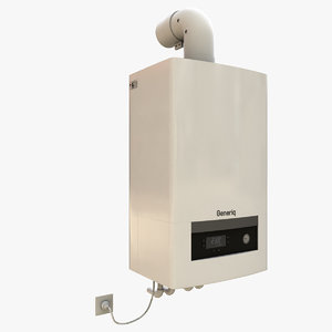 3D model generic boiler