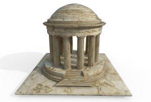 3D war memorial