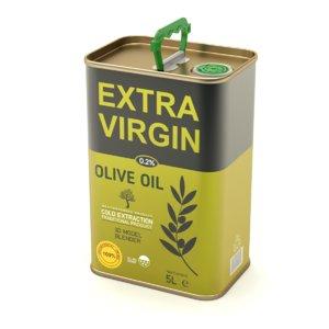 oil olive 3D