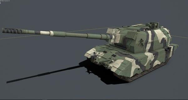 koalitsiya 2s35 3D model