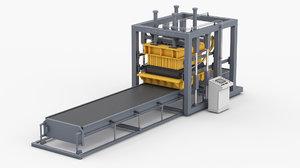 3D vibrating press