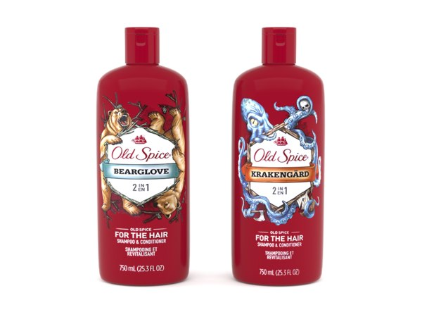 old spice shampoo conditioner 3D model