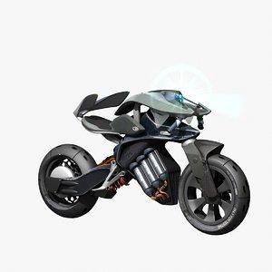 3D model motoroid concept bike