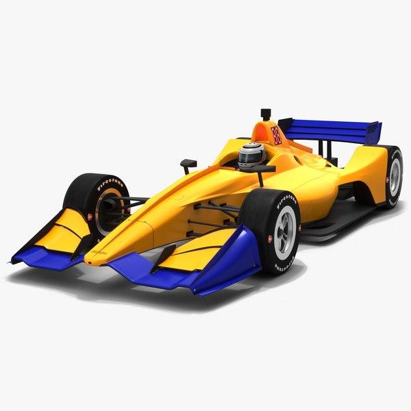 3D indycar season 2019 road