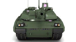 mbt amx 3D model
