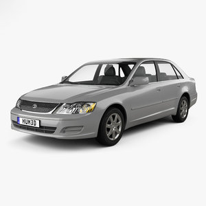 3D model toyota avalon xl