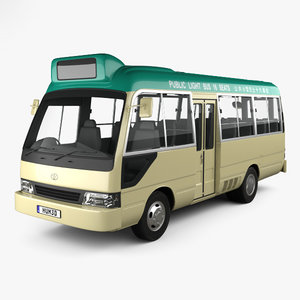 toyota coaster hong 3D