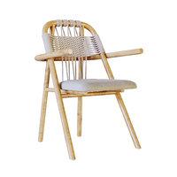 seat wood frame 3D model
