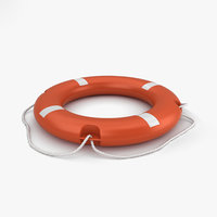 3D model lifebuoy buoy life