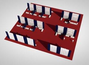 3D vendor stand market