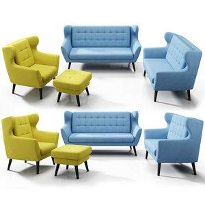 3D sofa etap