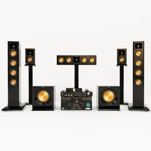 3D klipsch rp hd wireless model