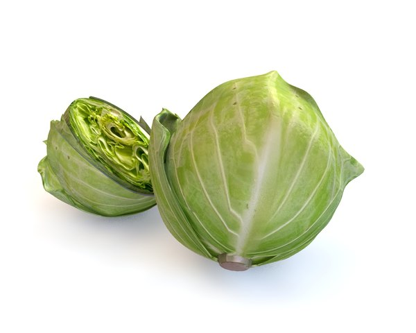 3D cabbage