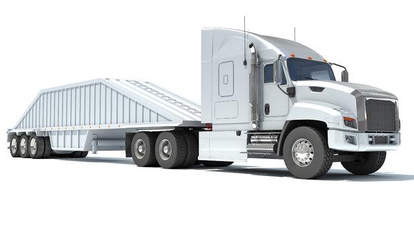 dump truck 3D