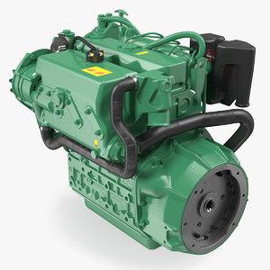 marine diesel engine model
