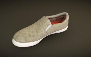 3D slip-on sneaker
