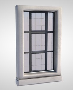 window sash frame 3D model