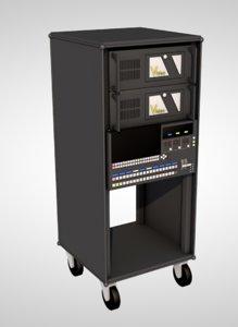 3D video rack