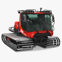 snowcat pistenbully snow 3D model