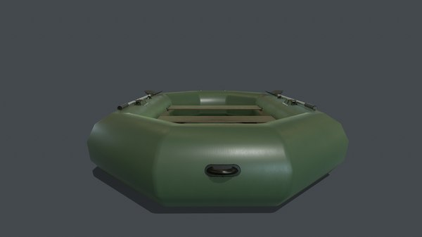 3D pbr inflatable boat