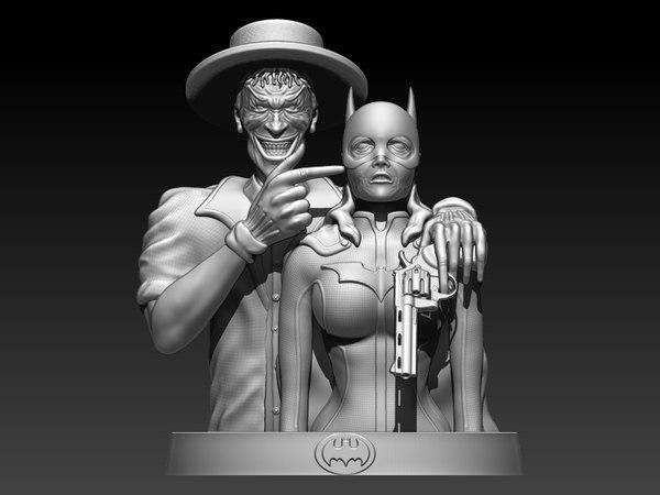 3D model killing joke