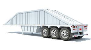 3D dump trailer