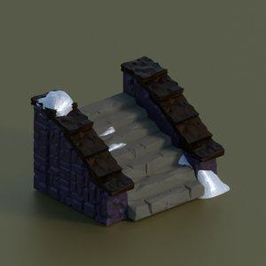 3D set games fence model
