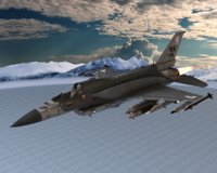 s14 fighter jet 3D model