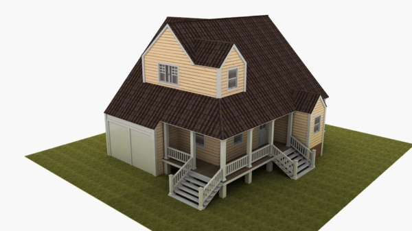 house marcos 3D model