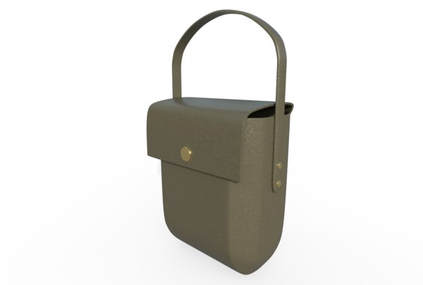leather bag model