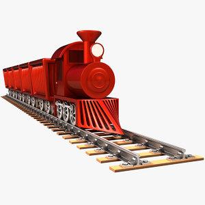 3D model train x1