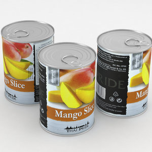 food mango 3D