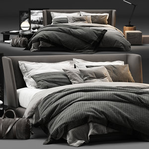 minotti creed bed model