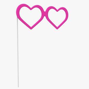 hearts props 3D model