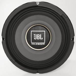 realistic jbl 2mb3p woofer 3D model