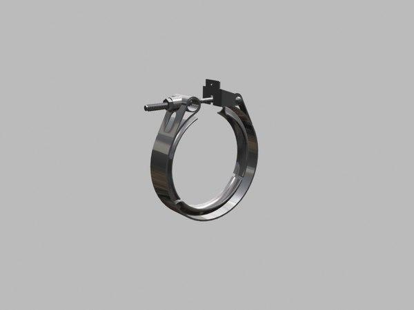 hose clamp 3D model