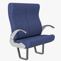 3D passenger seat
