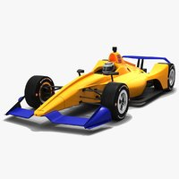 3D indycar season 2019 speedway model