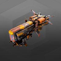 smuggler transporter sm3 3D model