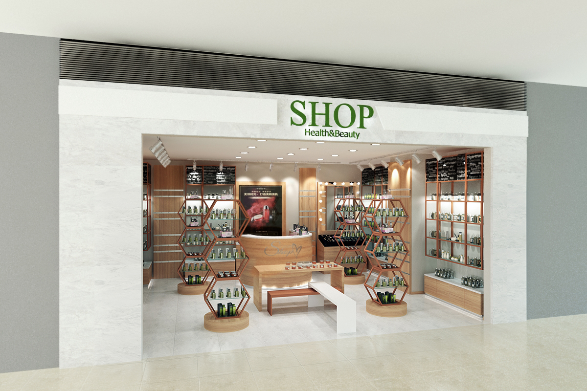 3D cosmetic shop