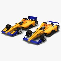 3D race car indycar season