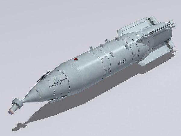 kab-1500l bomb 3D model