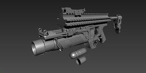 eglm 3D model